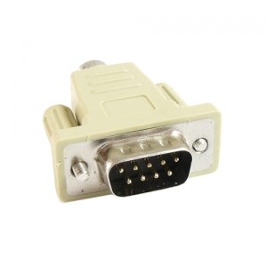 Adapter wtyk D-SUB 9 na wtyk miniDIN6 (PS2)