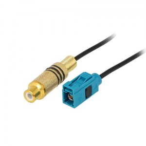 Kabel VIDEO RCA-FAKRA 25cm (Mercedes, Ford)
