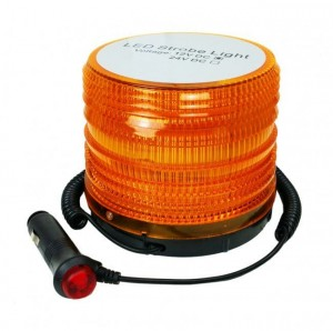 Lampa stroboskop LED  KOGUT  orange - 12V